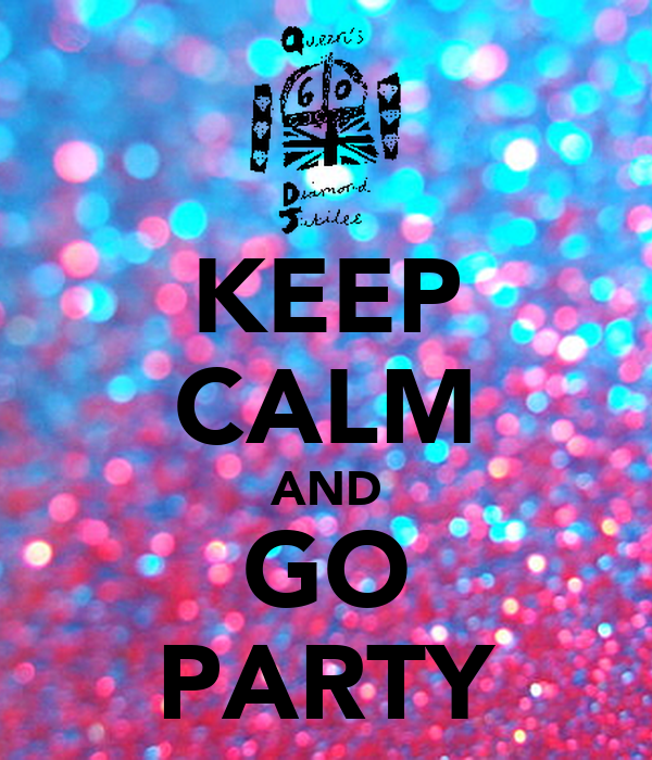 lets go party: