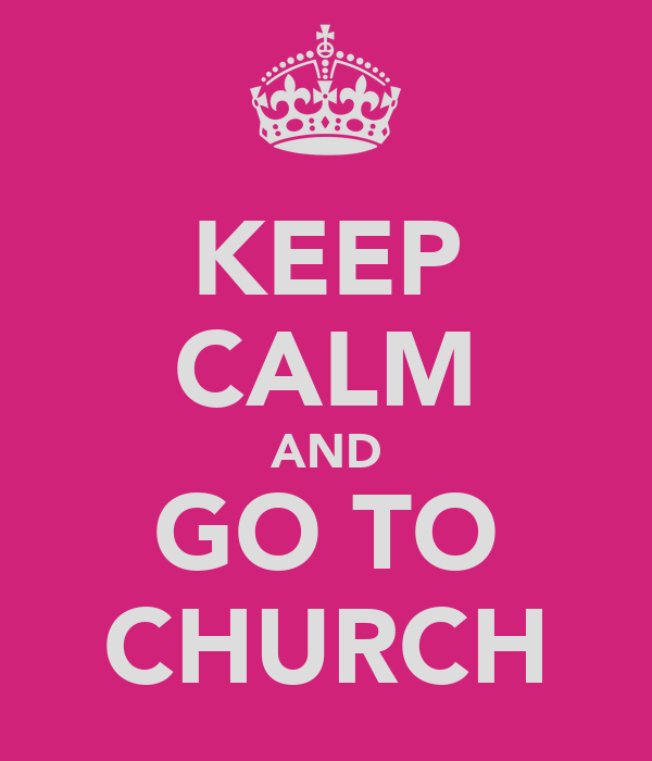 why do we refuse to go to church Many people refuse to get near a church unless their nephew is playing the role   when you become a christian, you are called into a relationship with god (1.