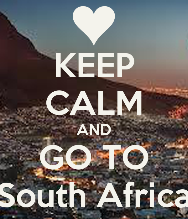 how to go to south africa