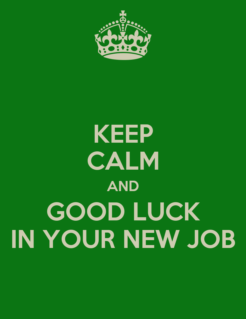 good luck on your new job quotes quotesgram