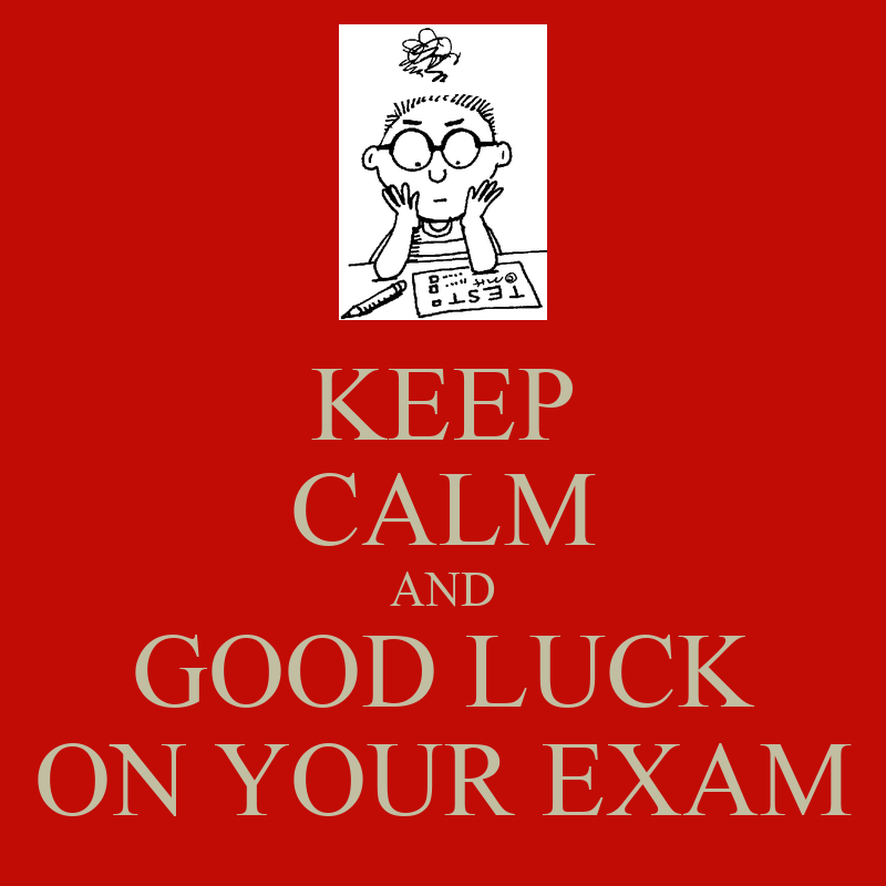 Good Luck on The Exam Good Luck Exam Funny 39 Good