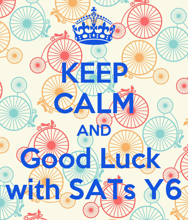 Image result for SATs good luck