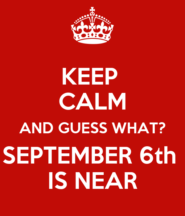Keep Calm And Hello September Quote Picture
