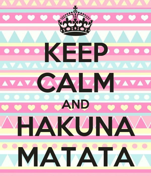 Keep Calm And Hakuna Matata Car Interior Design