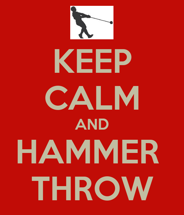 Hammer Throw Wallpaper Keep Calm And Hammer Throw