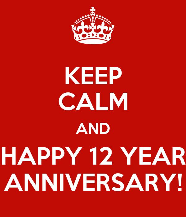 happy anniversary 12 12 12