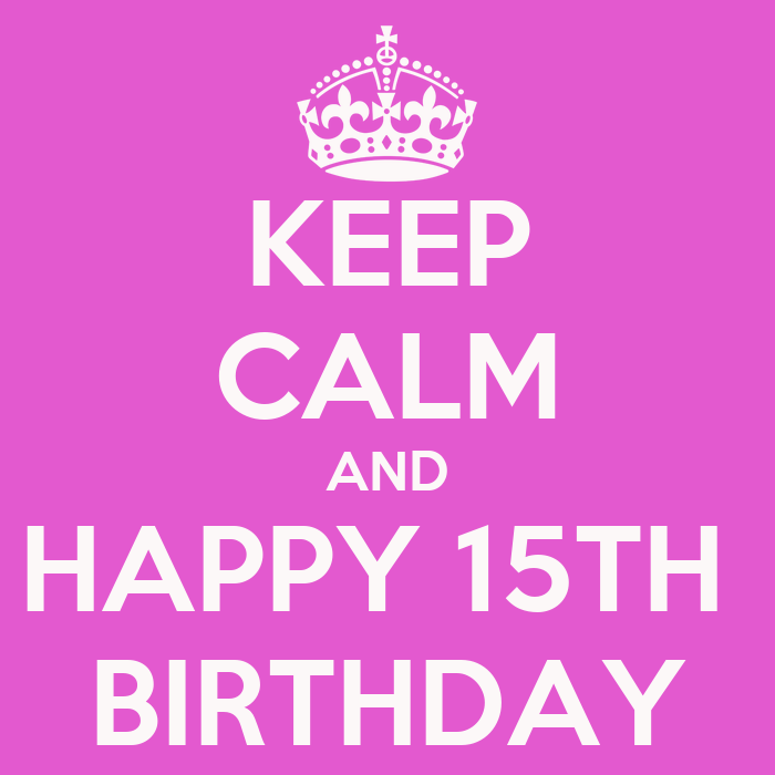 Download Image 15th Birthday PC Android IPhone And IPad Wallpapers