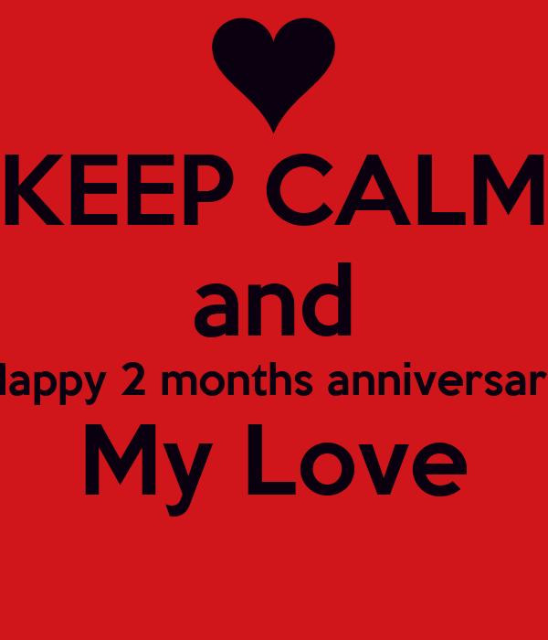 2 month relationship anniversary prayers