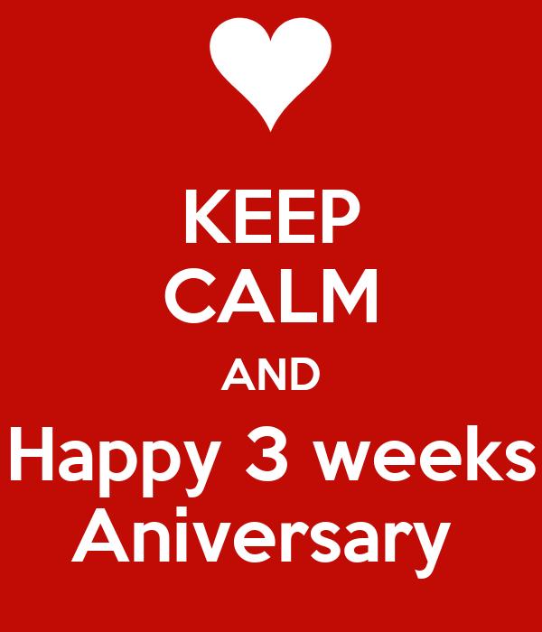 Three Weeks of Love