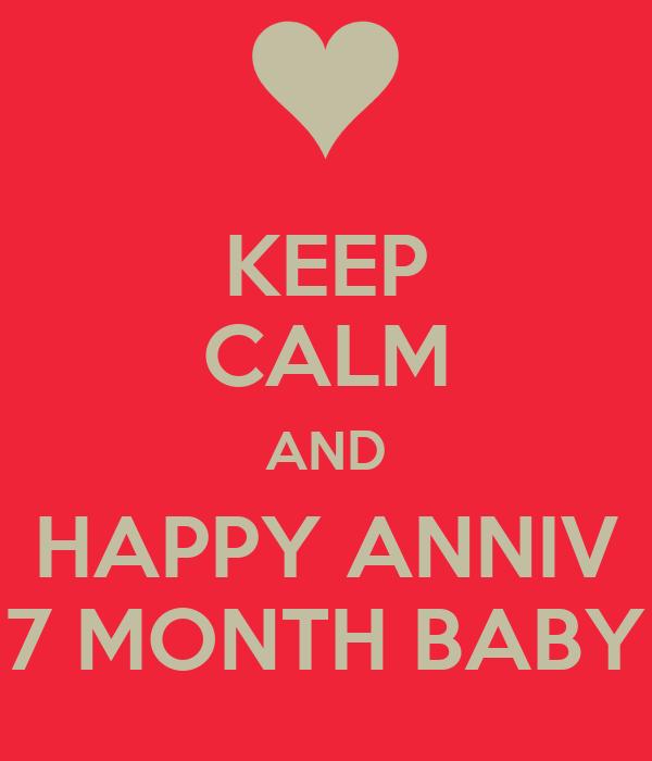 ♥ Happy 7 Month Son ♥