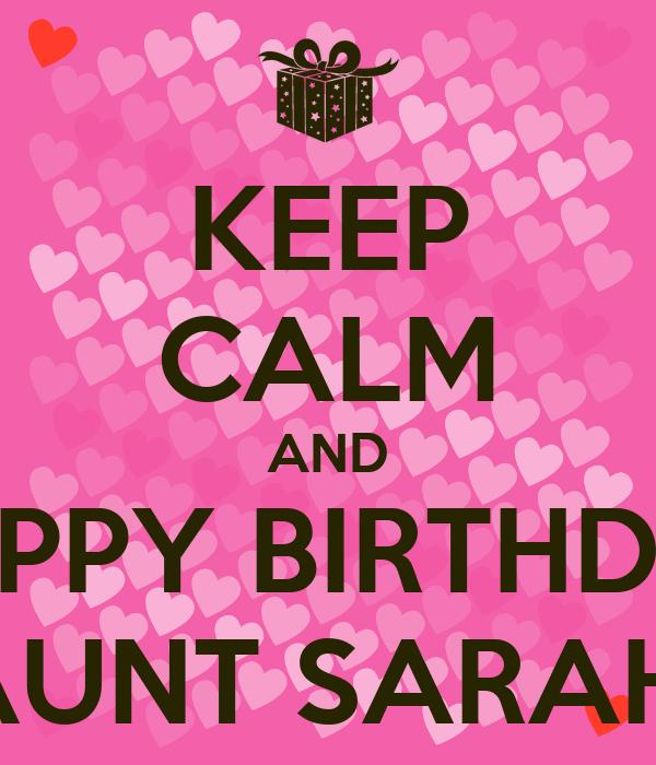 Funny happy birthday aunt success
