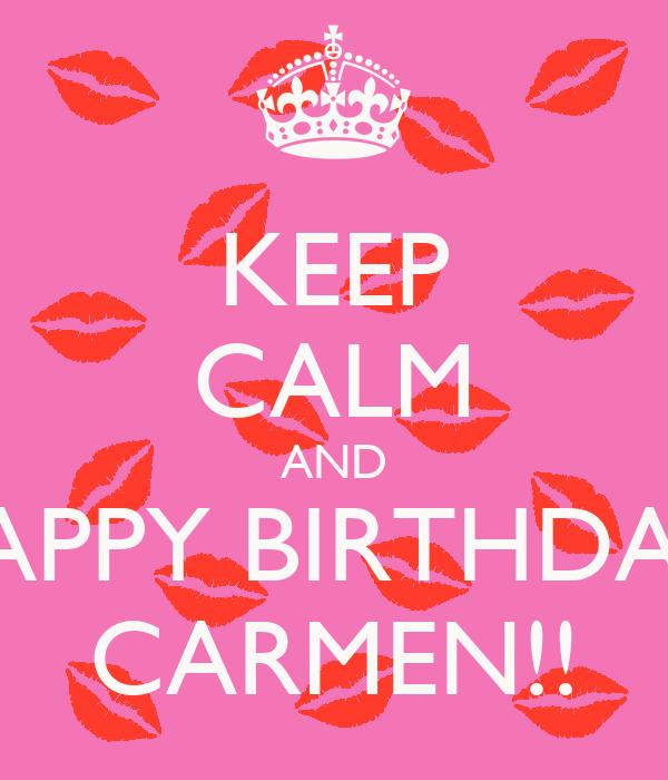 hd happy birthday carmen - photo #14
