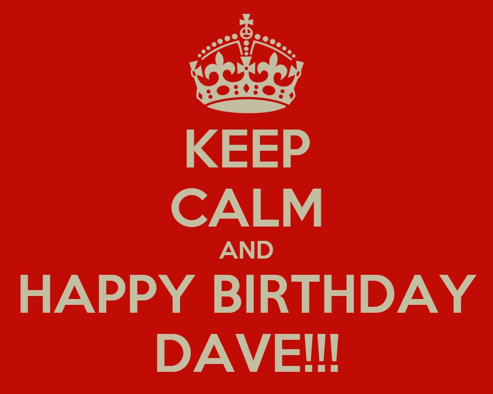 happy birthday dave images