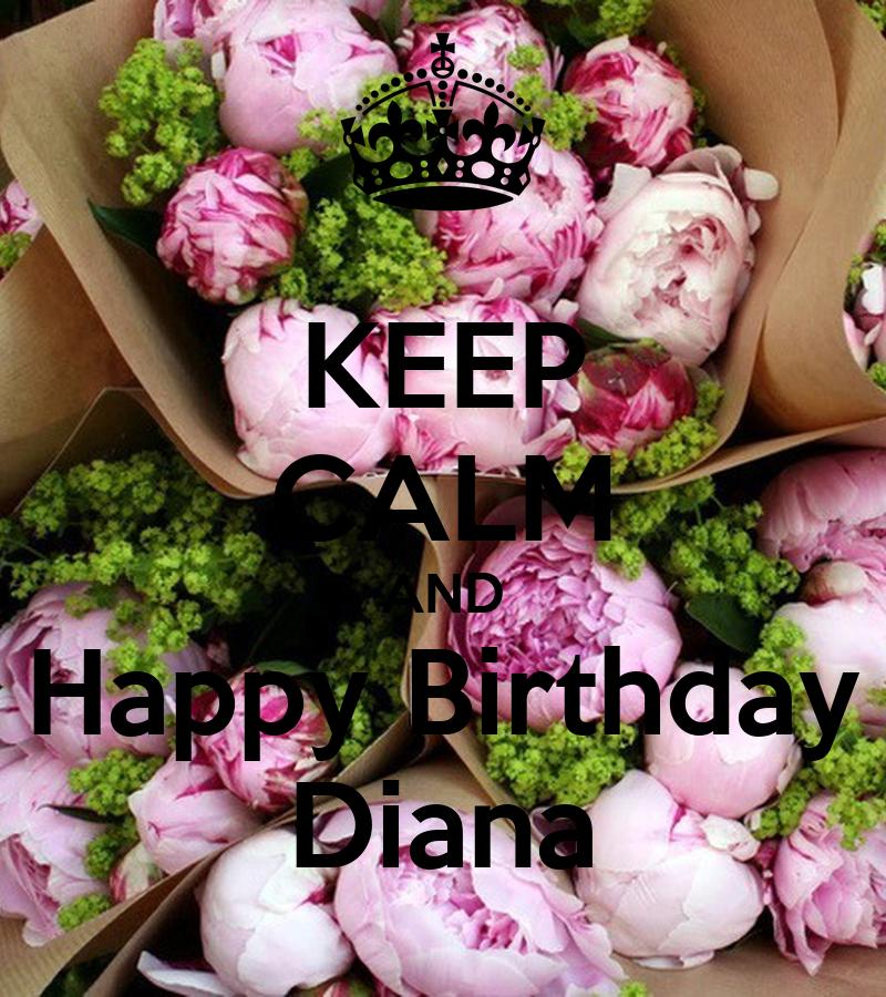 Happy Birthday Diane Cake
