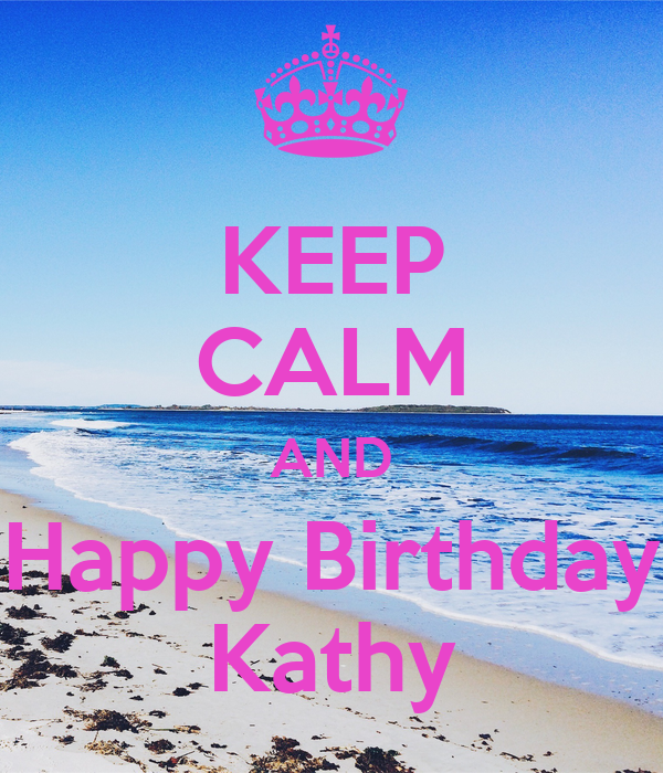 Happy Birthday Kathy Cake Images