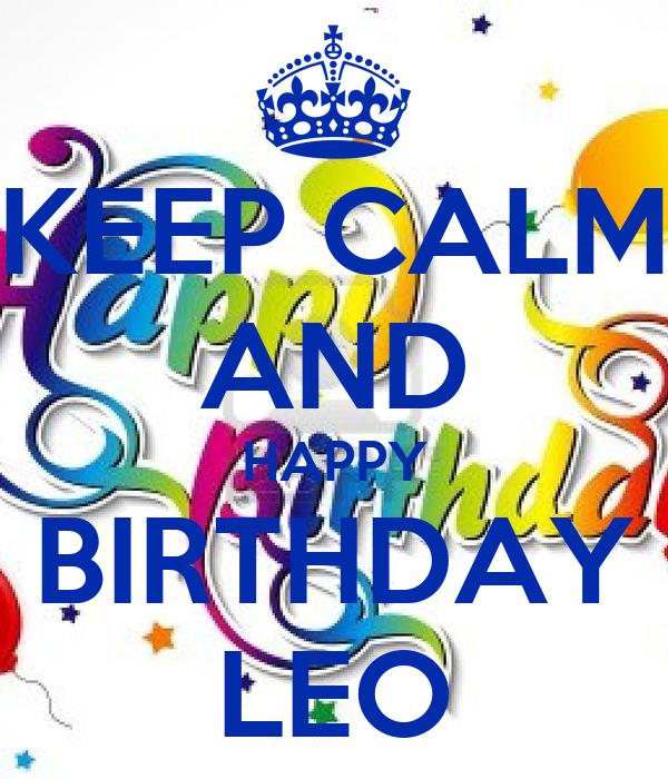 Happy Birthday Leo Cake Ideas And Designs