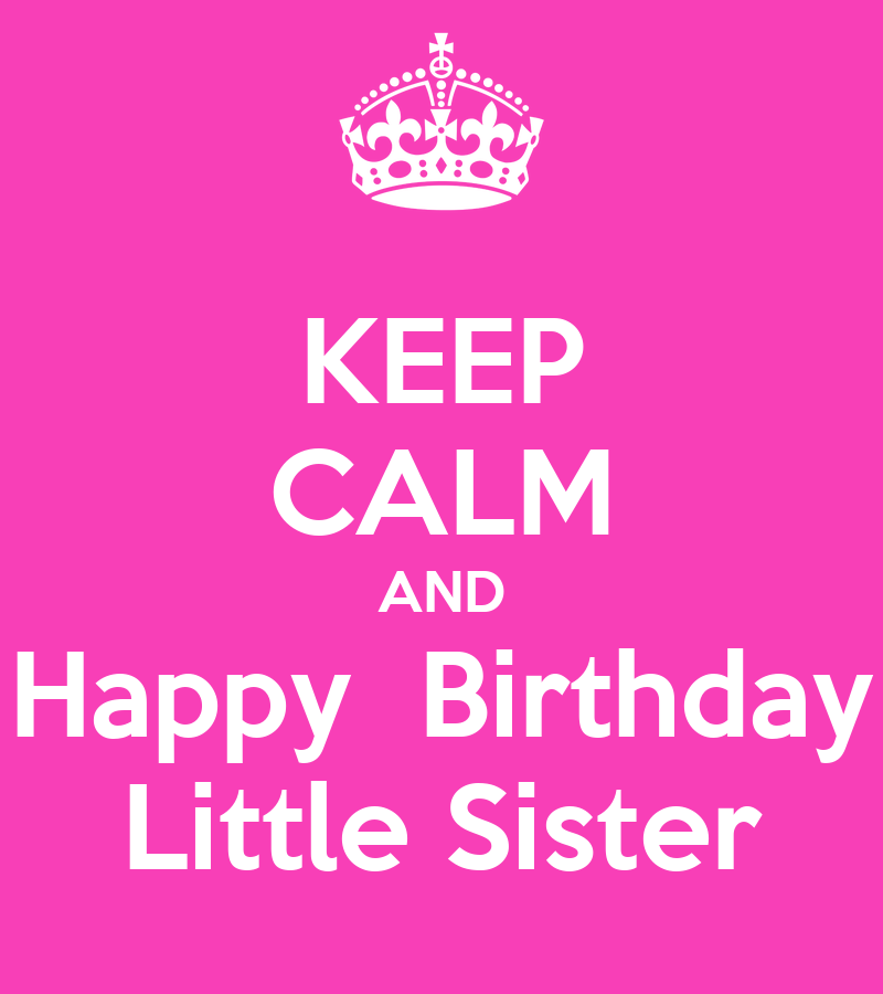 Happy Birthday Little Sister Quotes. QuotesGram Happy Birthday Quotes For Sister For Facebook