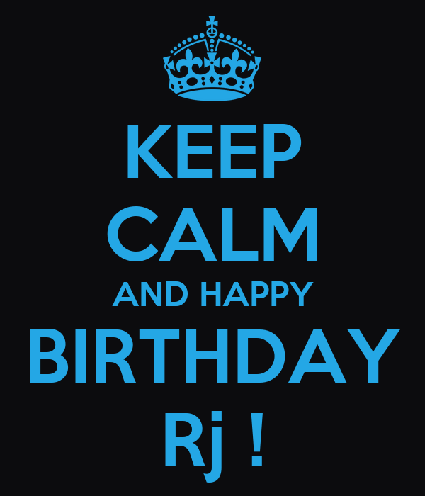 Image result for happy birthday RJ