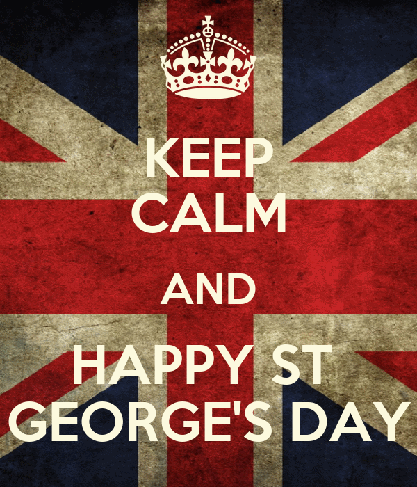 Keep calm and happy st george 39 s day poster jmk keep for Tattoo shops in st george