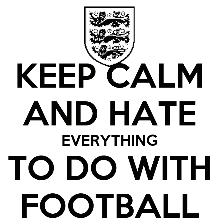 football is not everything I made myself some tea tonight and settled down to watch the england match only to find it wasn't on not on any of the four channels i can receive anyway.