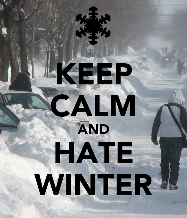 17 Emotions Only People Who Hate Winter Experience