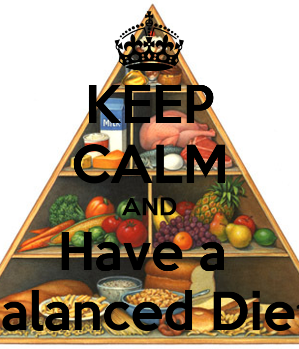 how to create a balanced diet