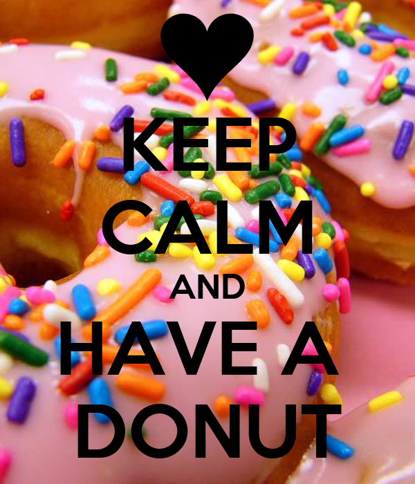 Keep Calm And Have A Donut Poster Donut Queen Keep