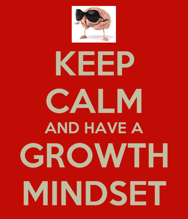 Growth Mindset Quotes On Being Wrong: KEEP CALM AND HAVE A GROWTH MINDSET Poster