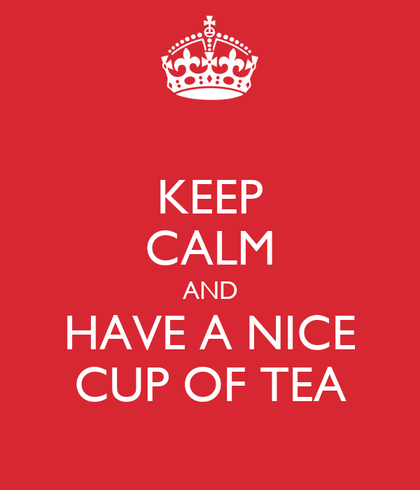 a nice cup of tea essay A nice cup of tea eleven rules for making a perfect cup of tea why i write contact sitemap about: work : essays a collection of orwell's best essays and newspaper.