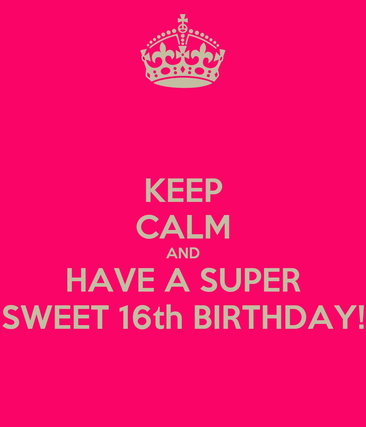 Happy Sweet 16 Birthday Cards Memes