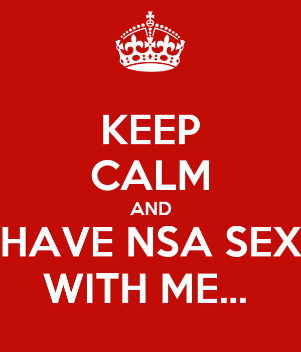 Where to find nsa sex