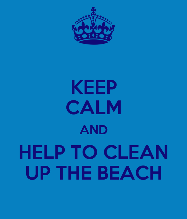 how to keep beaches clean