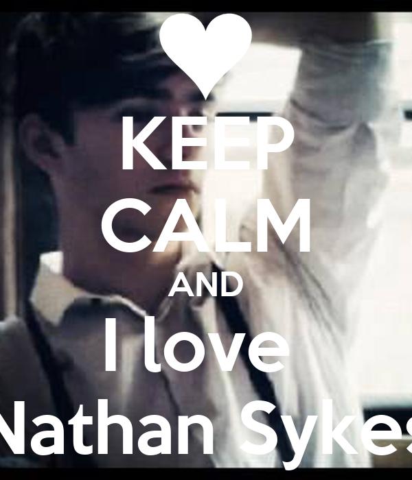 i Love Nathan Wallpaper Keep Calm And i Love Nathan