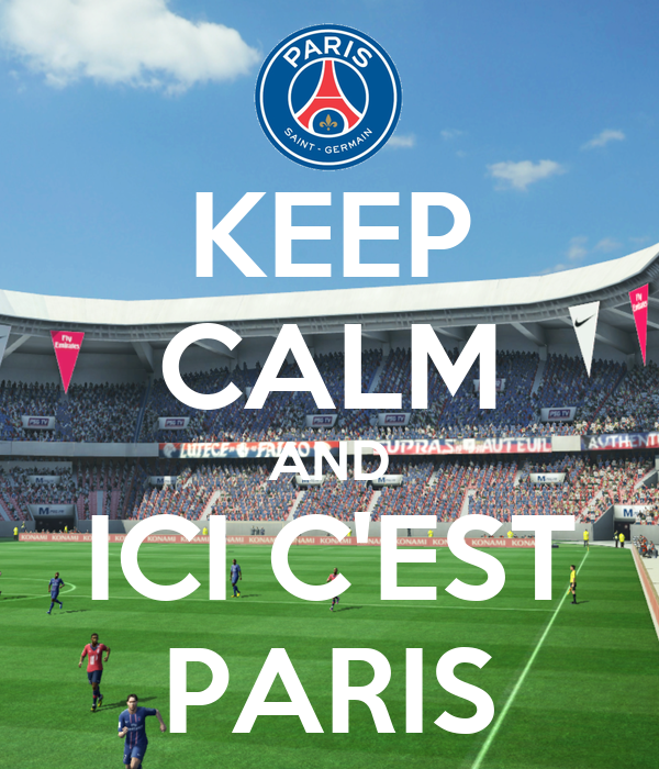 keep calm and ici c 39 est paris poster yv 96hwm keep calm o matic. Black Bedroom Furniture Sets. Home Design Ideas