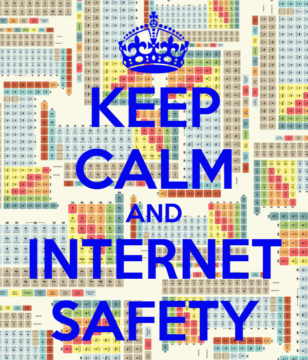 Keep Calm And Internet Safety Poster Jubs And Lala Keep Calm O Matic
