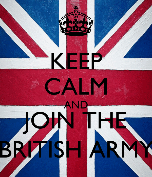 how to join the british army