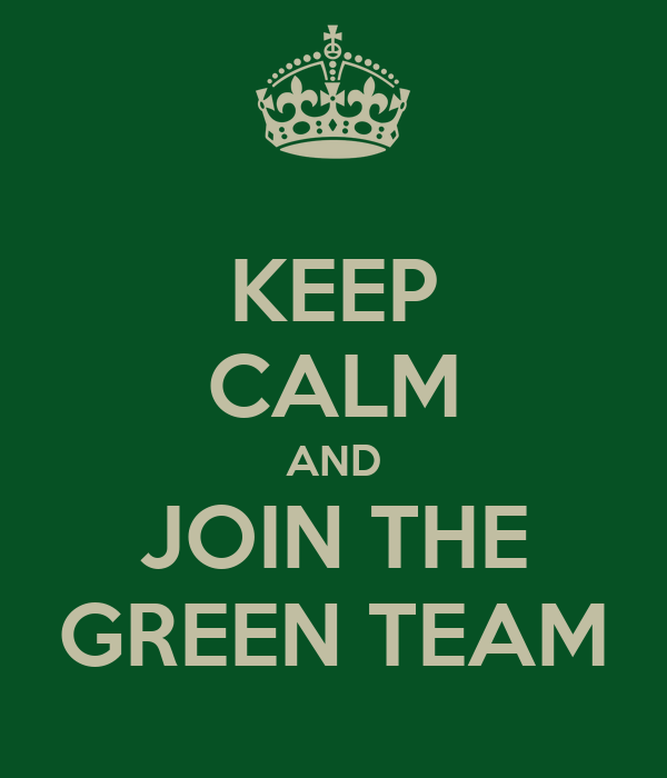 join the green team Join or create a work team focused on dreaming up and implementing schemes to reduce the impact your workplace has on the environment the understanding that workplaces have an important role to play in moving us towards sustainability is relatively new.