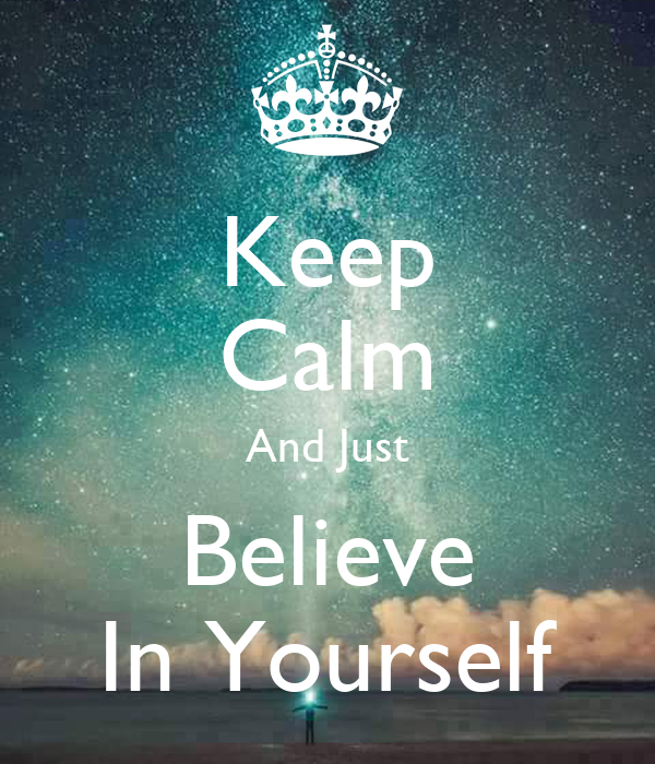 how to keep yourself calm