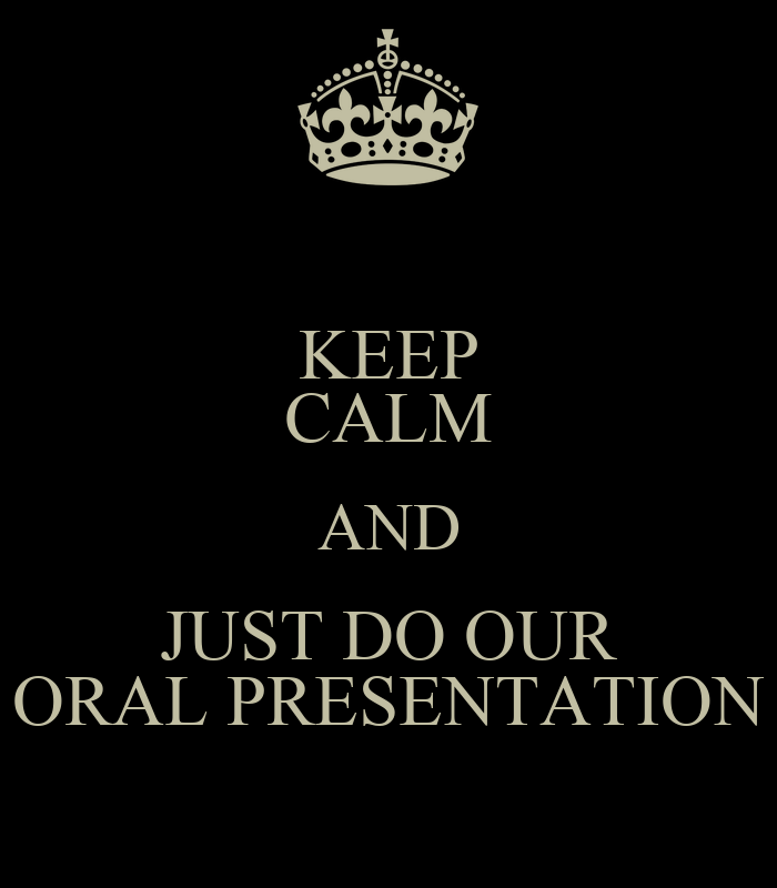 How to do oral presentation effectively