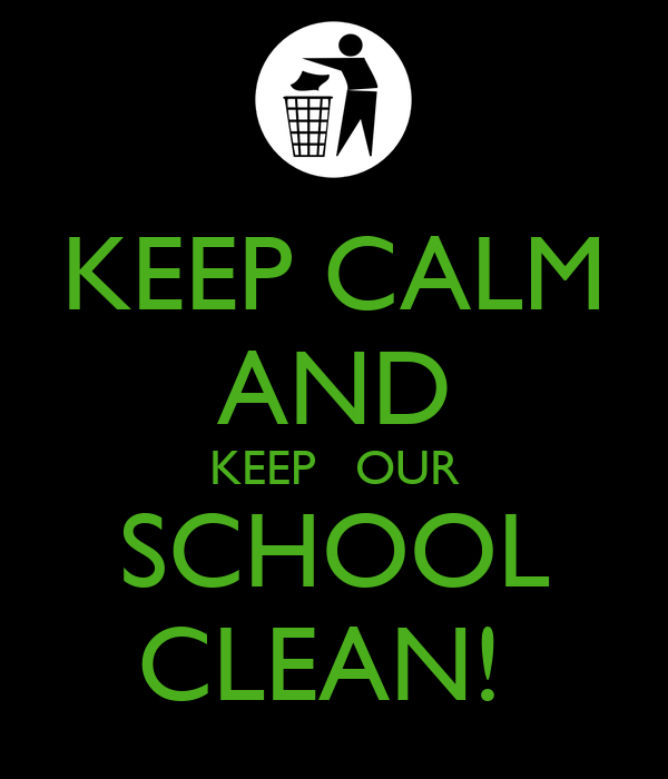 keeping our school clean Is the school clean and orderly  a shared vision must emerge from our  personal visions—otherwise people won't be committed to the shared.