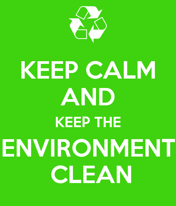 tips to keep the environment clean and green