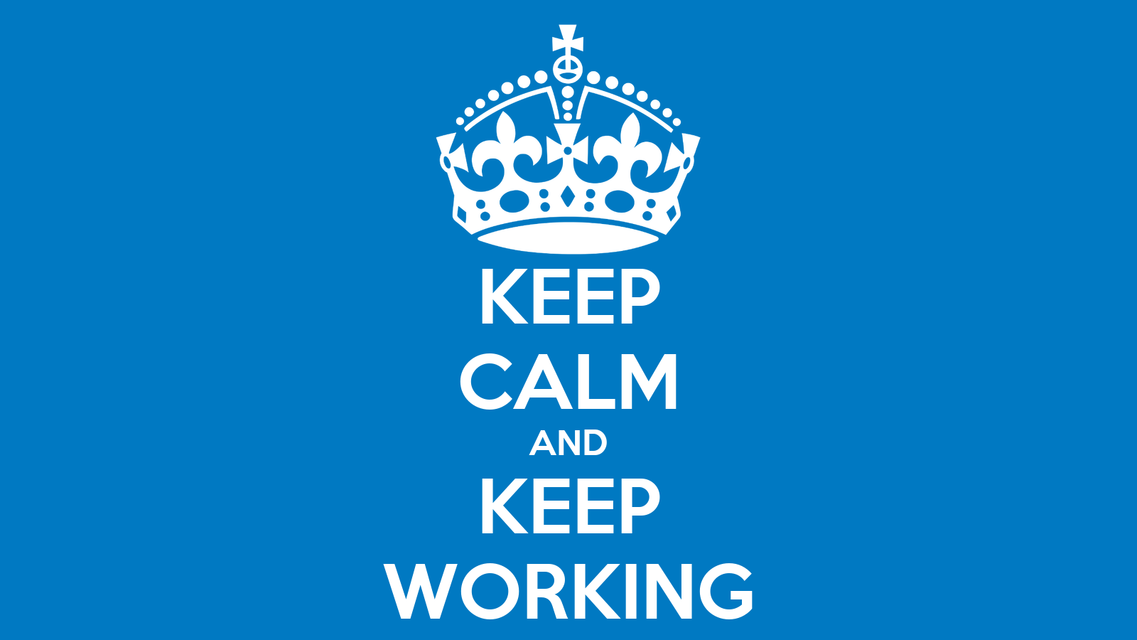 Keep Working Wallpaper Keep Calm And Keep Working