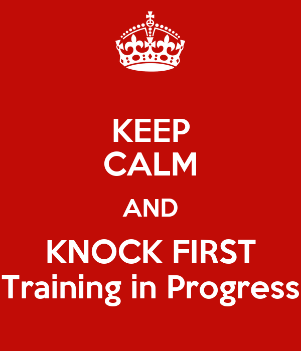 Keep Calm And Knock First Training In Progress  Keep Calm. Moving Sale Flyer Template. Employee Training Plan Template Excel. Example Resumes For Jobs. Creative Resume Template Word. Porter S Generic Strategies Template. Warehouse Supervisor Sample Resume Template. Birthday Card Template Publisher. Online Minutes Of Meeting Template