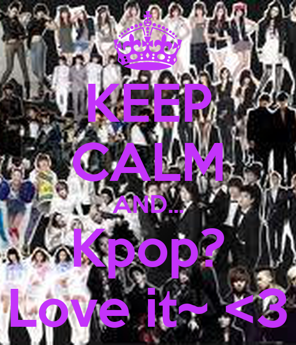 Nobody has voted for this poster yet  Why don t you Keep Calm And Love Kpop Shirt