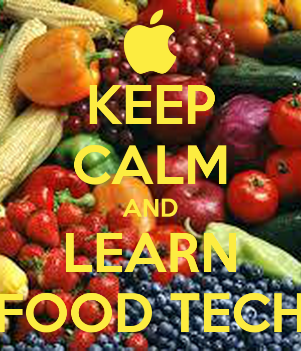 Keep calm and learn food tech poster jos keep calm o matic for Cuisine tech
