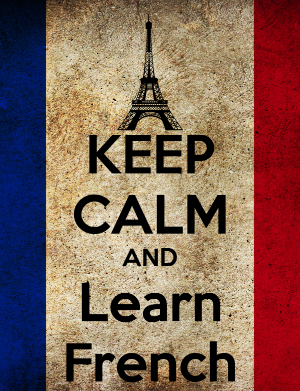Image result for keep calm and learn french