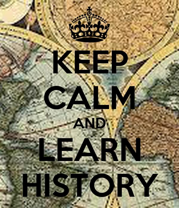 Keep Calm History