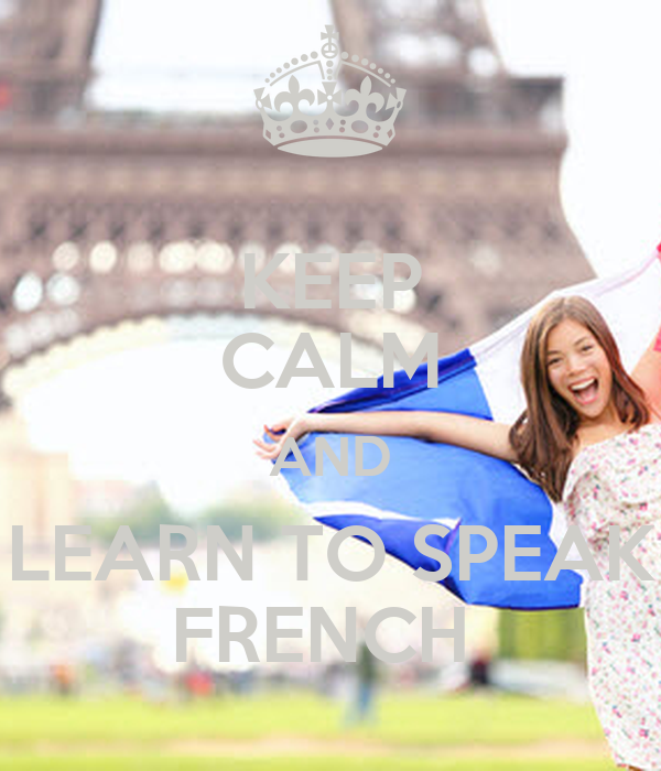 how to learn and speak french