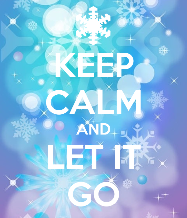 keep calm and let it go poster elsaampjack
