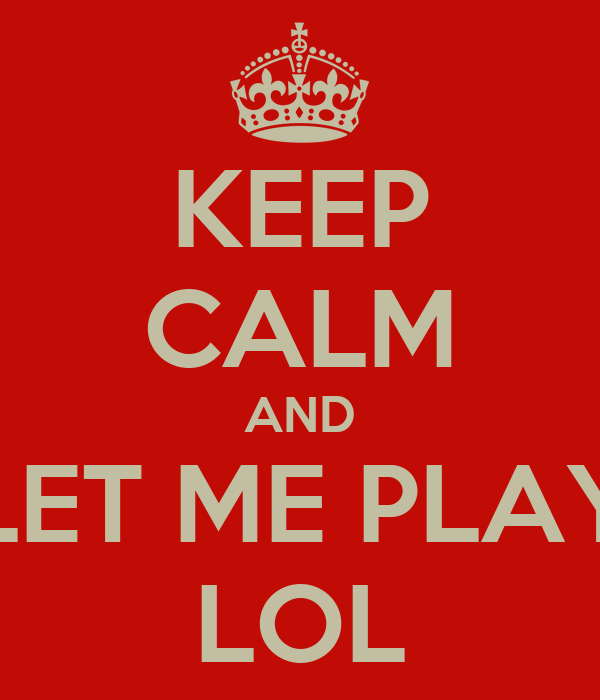 let me play: